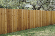 Wood fencing is timeless and very customizable. The only drawback is wood tends to be higher maintenance because the wood is out in the elements. But when correctly taken care of, wood can last a very long time. Wood fences are great for privacy, security, and add value as well!